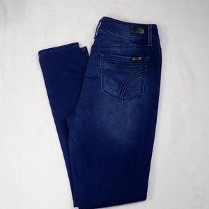 Womens Seven7 high rise skinny dark wash jeans, 6